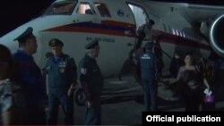 Վերին Լարսում մնացած քաղաքացիները ժամանում են Հայաստան, 30-ը հունիսի, 2016թ.
