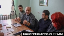 На конференции «Крымской идеи» – объединении крымских правозащитных инициатив