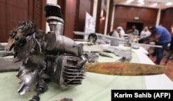 Один из дронов иранского производства, используемых, как утверждает разведка ОАЭ, йеменскими хуситами