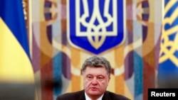 Петро Порошенко на засіданні РНБО 4 листопада 2014 року