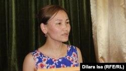 Гульжан Салимбаева, учитель школы-гимназии № 38. Шымкент, 5 июня 2017 года.