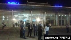"""""""Манас"""" аэропорту"""
