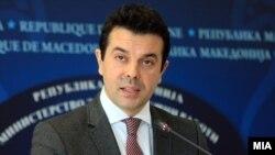 Никола Попоски, министер за надворешни работи