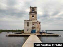 Храм-маяк в Крохино, Вологодская область