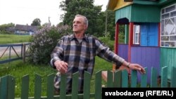 Самы малады жыхар Бычкоў, наглядчык музэя Мікола Харак