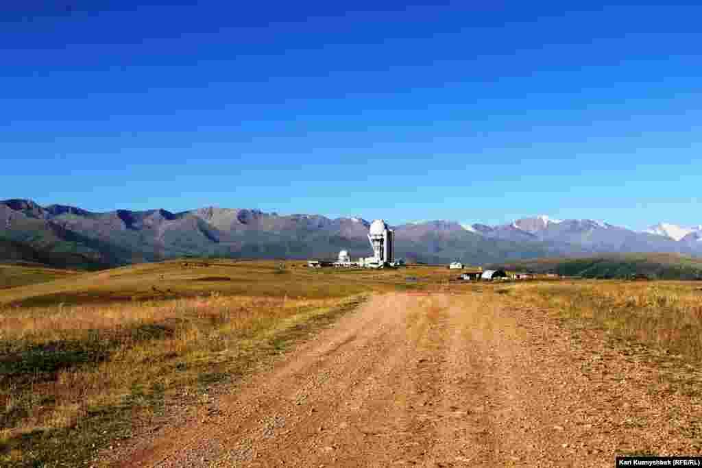 Обсерваторияға баратын жолдың жақсы деген тұсы осындай.