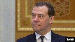 Председатель российского правительства Дмитрий Медведев