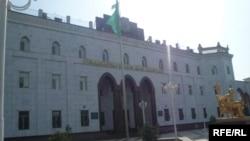 Türkmenistanyň Içeri işler ministrligi.
