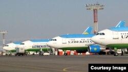 Uzbekistan Airways учоқлари