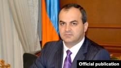 Генеральный прокурор Армении Артур Давтян (архив)