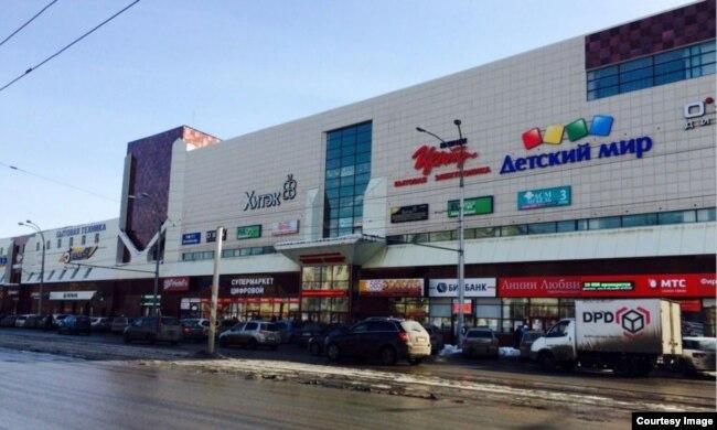 """ТЦ """"Зимняя вишня"""" в Кемерове до пожара"""
