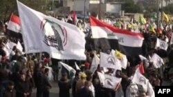 Zeci de mii de oameni au venit sâmbătă la procesiunea funerară dedicată generalului iranian, Qasem Soleimani și comandantului irakian, Abu Mahdi al-Muhandis