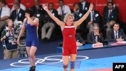 Бронзовый призер Олимпиады-2012 Гюзель Манюрова. Лондон, 9 августа 2012 года.