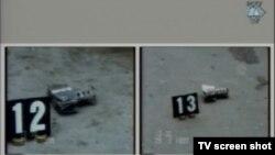 Snimci ostataka minobacačke granate iz incidenta Markale 2