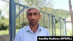 Təngərüd kənd məscidin imamı Sabir Zahidov