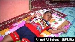 الطفل النوام علي قاسم من الديوانية