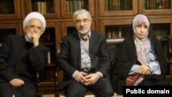 Iran-- Iranian opposition leaders Mirhossein Mousavi and Mehdi Karroubi were placed under house arrest along with Zahra Rahnavard, undated