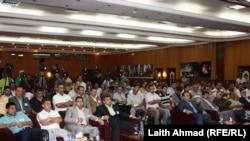 الهيئة العامة لإتحاد كرة القدم العراقي في إجتماع سابق