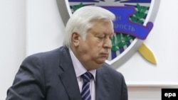 Виктор Пшонка, бывший генеральный прокурор Украины.