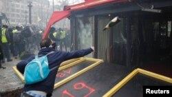 Один из инцидентов в Париже, 16 марта 2019