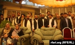 Участники Альянса восточных жителей Афганистана. 8 сентября 2013 года.