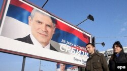 predizborni plakati sa likom Borisa Tadića