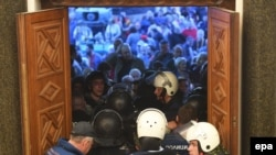Noć kada su demonstranti upali u Sobranje Makedonije