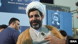 """The RSF press-freedom watchdog has accused Gholamreza Mansouri of being responsible for the """"arrest and torture"""" of at least 20 journalists. (file photo)"""