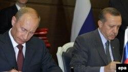 Rusija i Turska glavni igrači u ovom projektu: Vladimir Putin i Redžep Tajip Erdogan