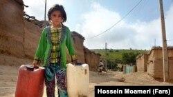 Government officials again warn about severe water shortages in Iran.