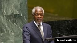 Международный посланник в Сирии Кофи Аннан