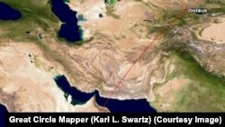 Сомалинин борбору Могадишу шаары Бишкектен 5390 чакырым алыс.