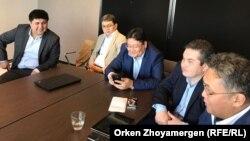 """""""Жаңы Казакстан"""" форумунун катышуучулары."""