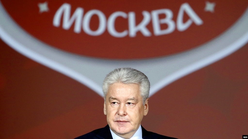 "Moscow Mayor Sergei Sobyanin (above) ""lives in his own completely isolated world that he views through the eyes of his numerous aides,"" says Russian journalist Aleksei Kovalyov."