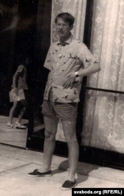 Іван Чыгрынаў у Балгарыі. 1964 г. З фондаў БДАМЛМ