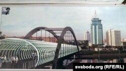 Да Траецкага прадмесьця хочуць кінуць пешаходны мост