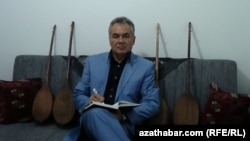 "Turkmen dissident Akmuhammet Baykhanov: ""I learned a lot about Turkmen life, dictatorship politics, and the Turkmen government's repression against the people from my prison experience, from inside the darkness."""