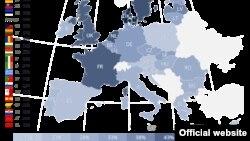 Женщины, подвергшиеся физическому насилию или психологическому давлению со стороны своего партнера в странах Евросоюза