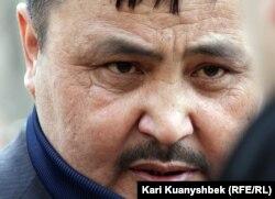 Рахим Ауганбаев, гражданский активист из Тараза. Алматы, 24 марта 2012 год.