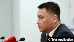 Секретарь Совета безопасности Дамир Сагынбаев.