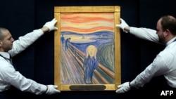Mayın 2-də Sotheby's Hərrac Evində Edvard Munch-in «Haray» əsəri nümayiş olunur.