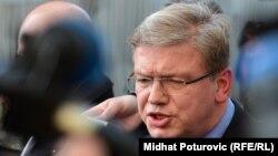 EU Commissioner for Enlargement Stefan Fuele