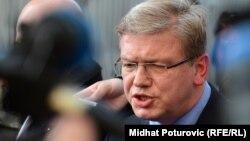 Комісар Євросоюзу з питань розширення та політики сусідства Штефан Фюле