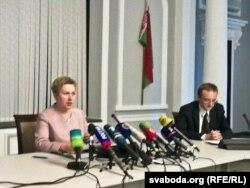 Надзея Ермакова, старшыня Нацбанку