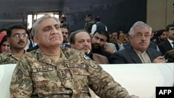 "FILE: Pakistan's chief of army staff, General Qamar Javed Bajwa, said Pakistan feels ""betrayed"" by U.S. criticism that it is not doing enough to fight terrorism."