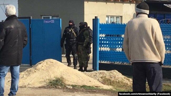 Обыск в Советском районе, 16 ноября 2017 года
