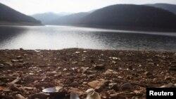 Liqeni artificial i Batllavës, 2014.