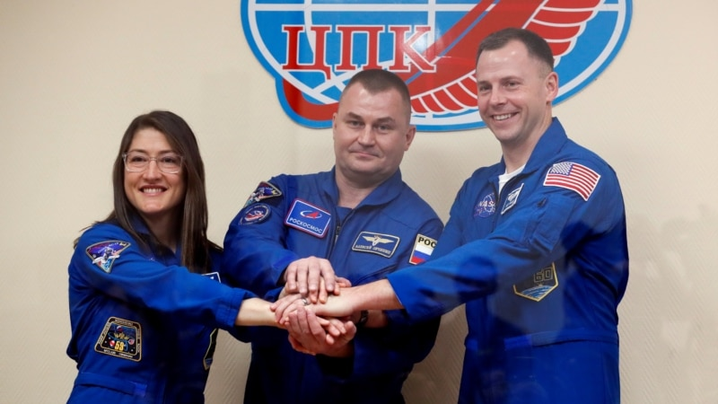 U.S.-Russian Crew Arrives At International Space Station After Six-Hour Flight