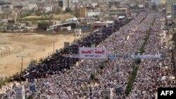 Антиправительсвенная демонстрация в Йемене, 13 мая 2011