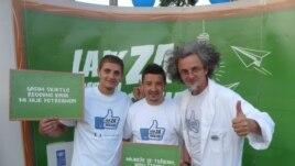 Duško Mazalica sa građanima